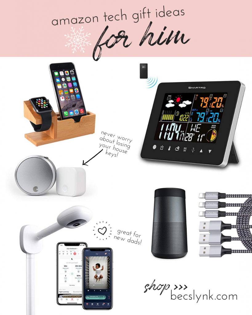 Amazon Tech Christmas Gift Ideas For Him